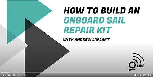 Build Your Onboard Sail Repair Kit