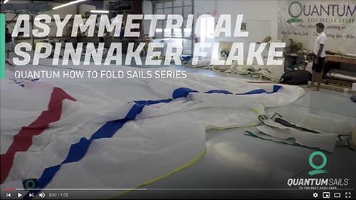 Asymmetrial Spinnaker Flake