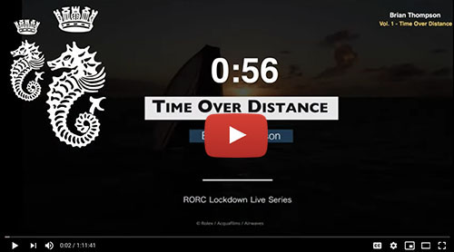 RORC Lockdown Live Series
