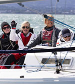 Irish Sailing Pathfinder Women at the Helm Regatta
