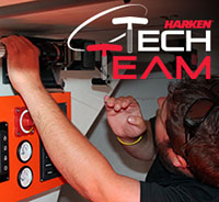 Harken® Tech Team Offering Service and Support at Cowes Week