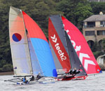18ft Skiffs Australian Championship, Race 8