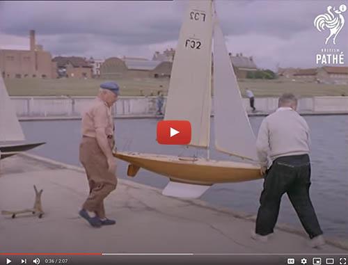 British Pathe Pond Yachts