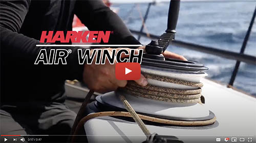 Harken's New Air Winch 900